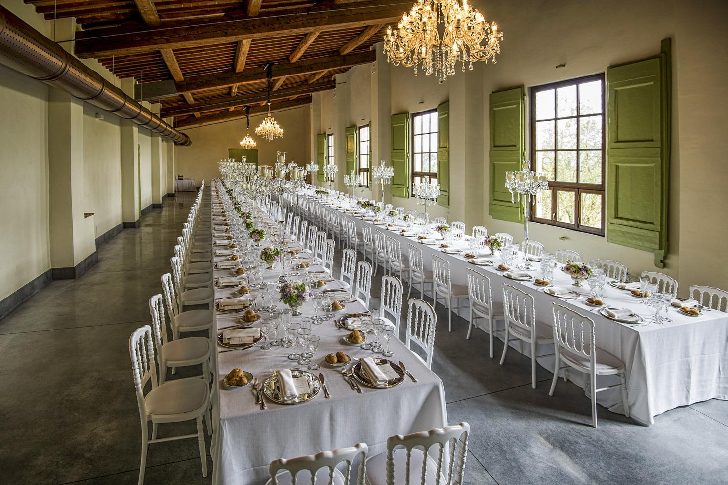 Wedding reception in the Limonaia