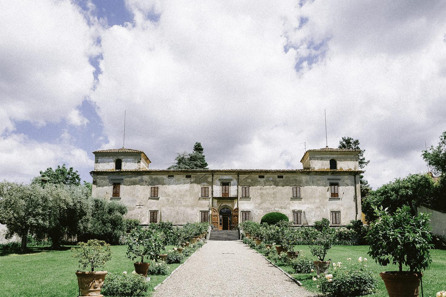 Villa Medicea di Lilliano near Florence