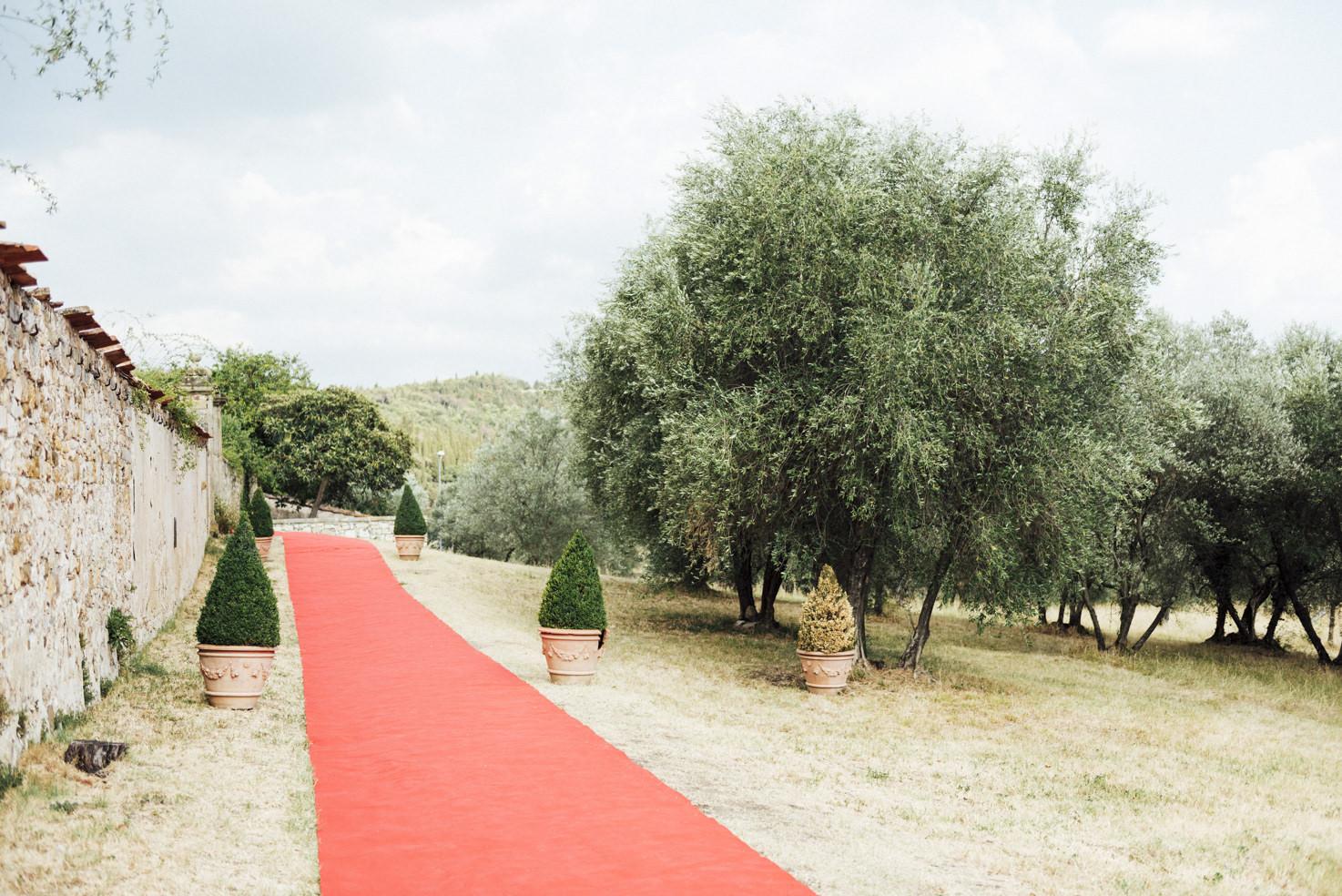 Entrance of Villa di Maiano