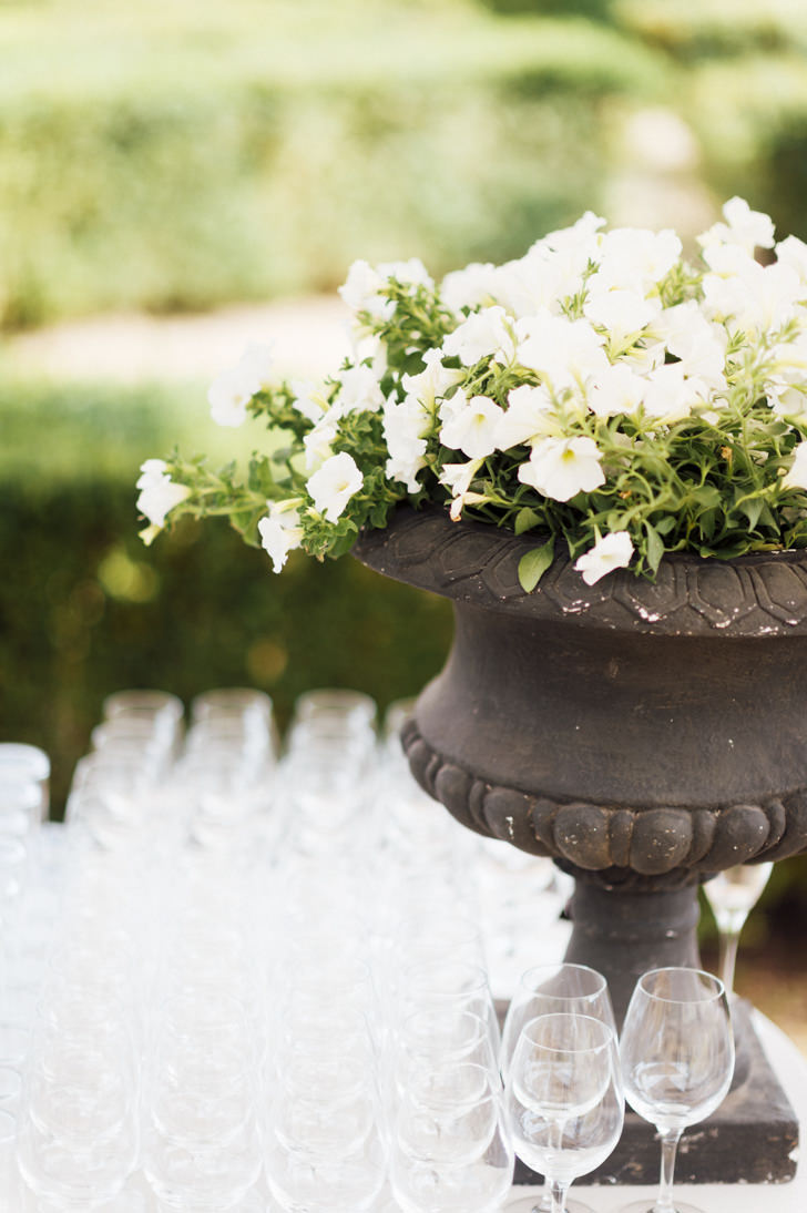 Glasses for wedding cocktail