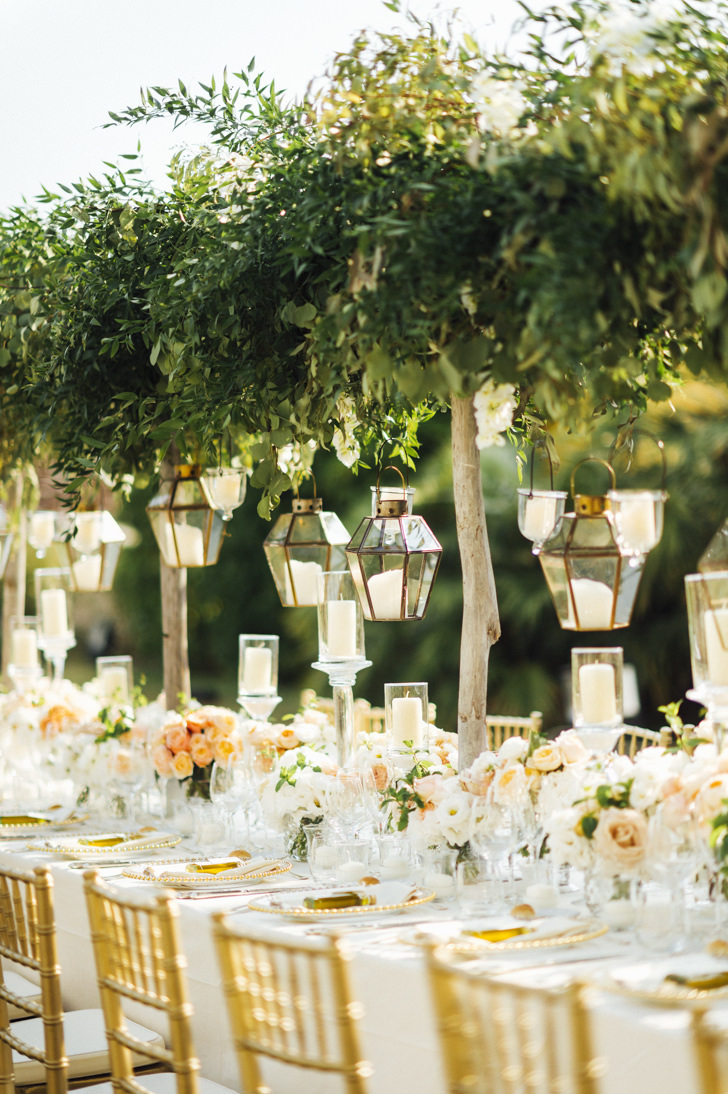 Tables for wedding banquet