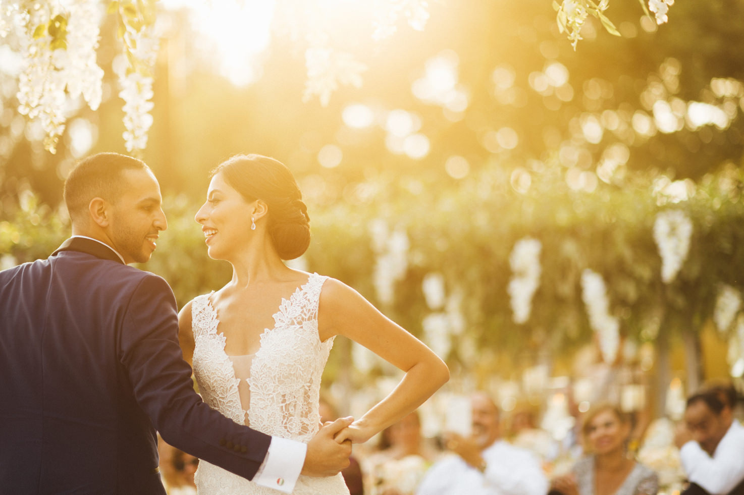 Florence wedding at Villa di Maiano