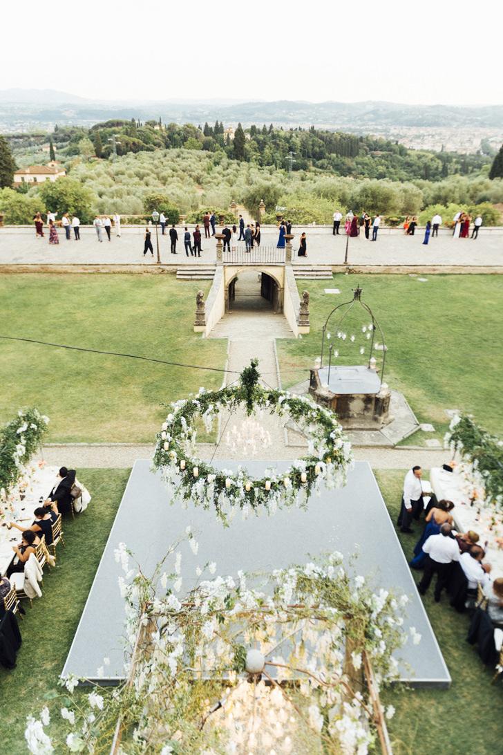 Dance floor for wedding banquet
