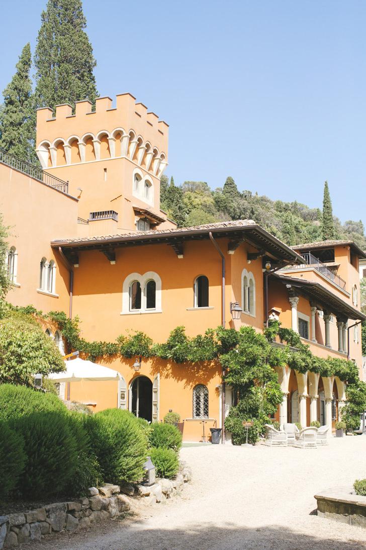 Exterior of Villa Le Fontanelle