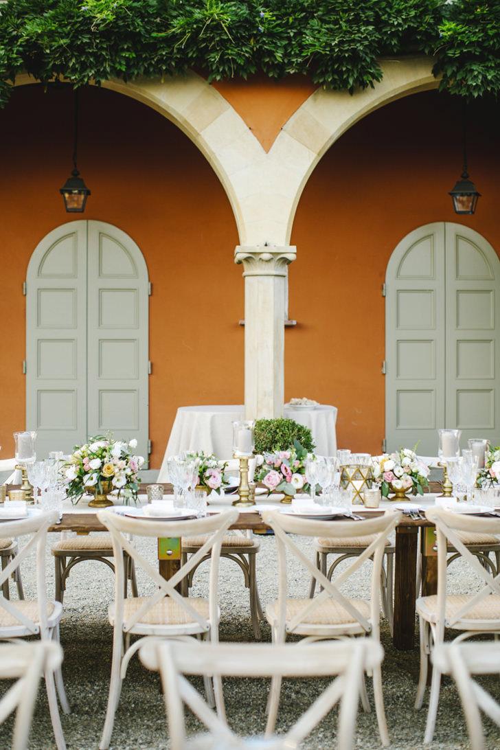 Table for wedding banquet