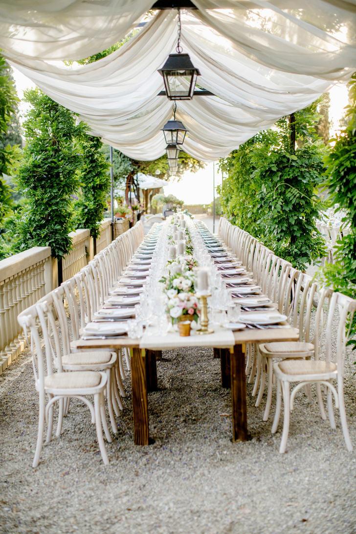 Wedding reception at Villa Le Fontanelle