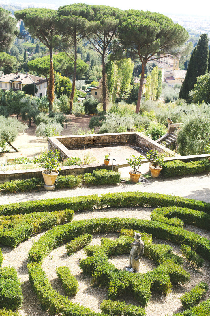Italian gardens of Villa Le Fontanelle