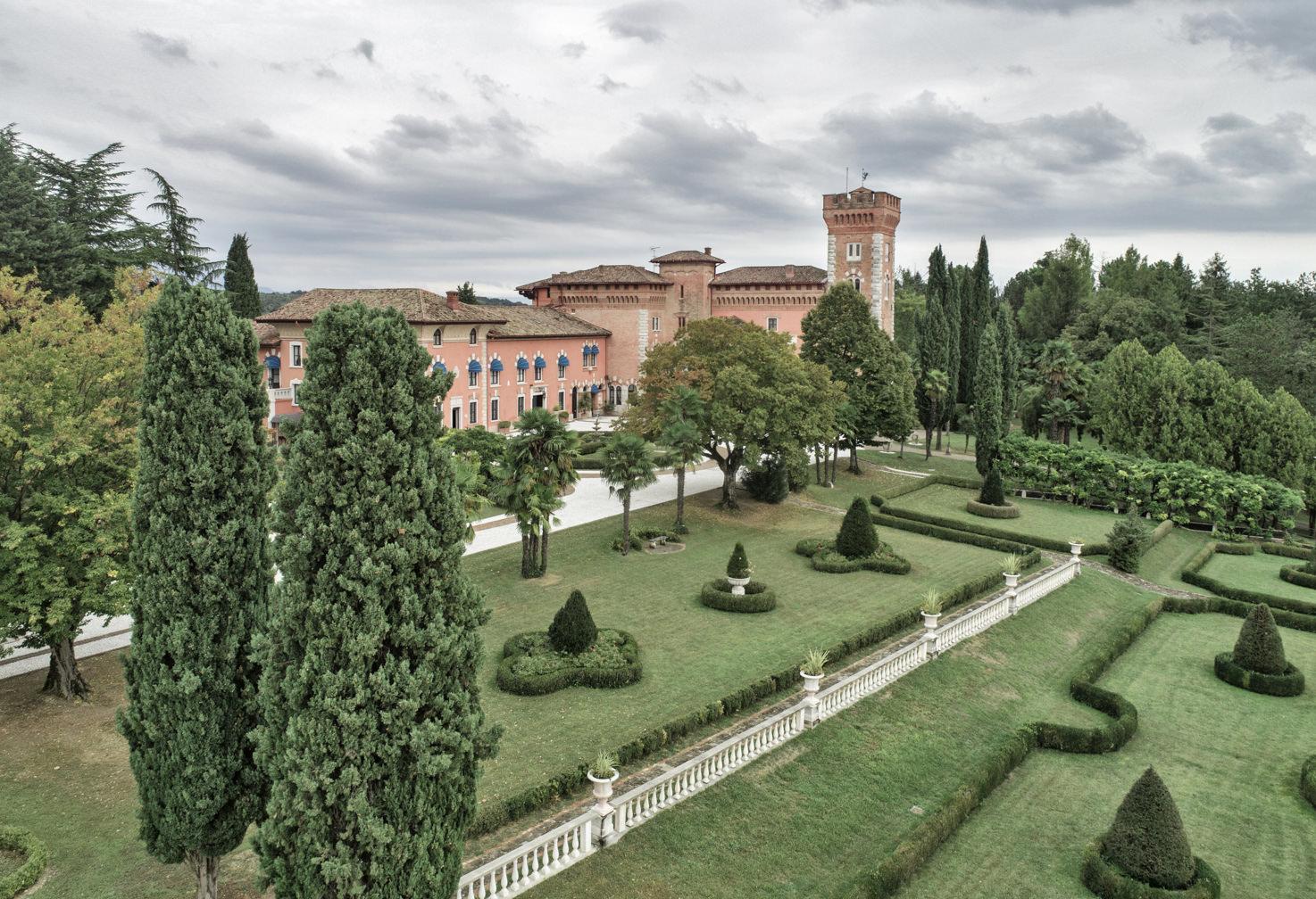 Castle and gardens of Castello di Spessa