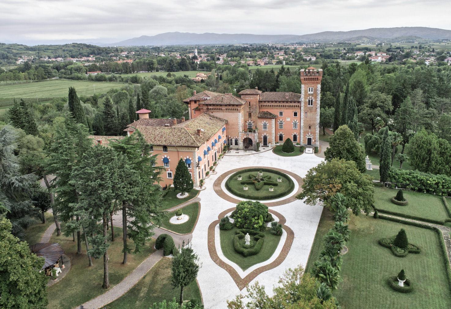 Overview of Castello di Spessa