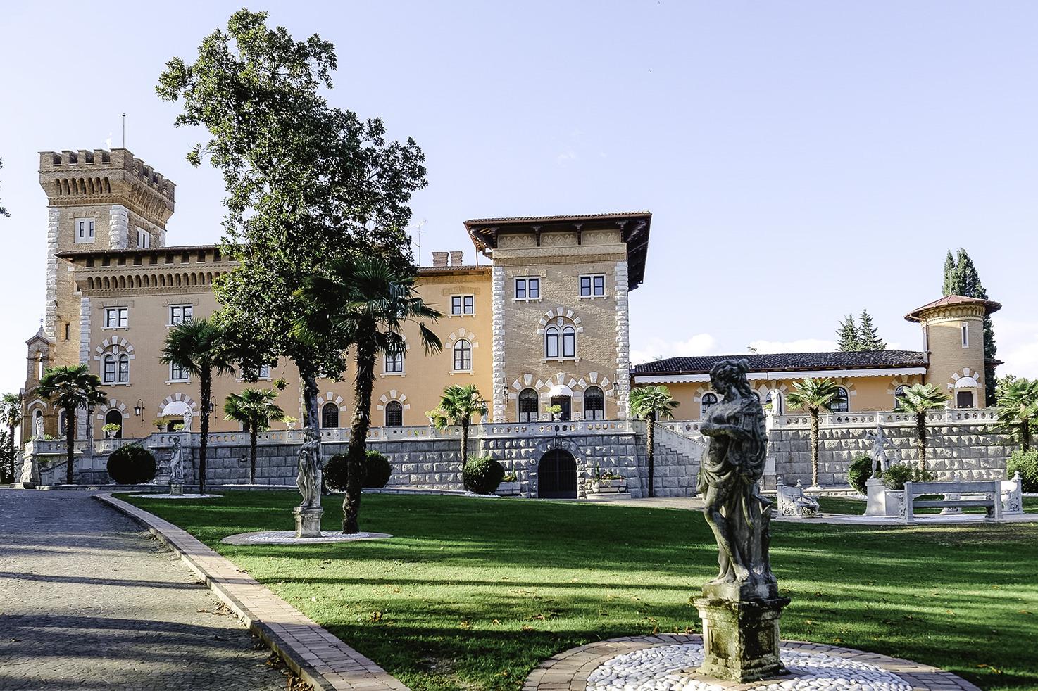 Exterior of Castello di Spessa