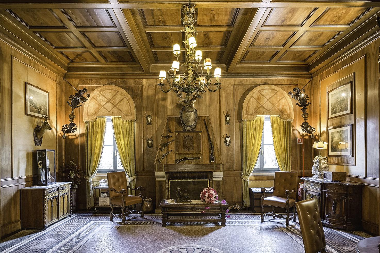 Sala di Caccia at Castello di Spessa