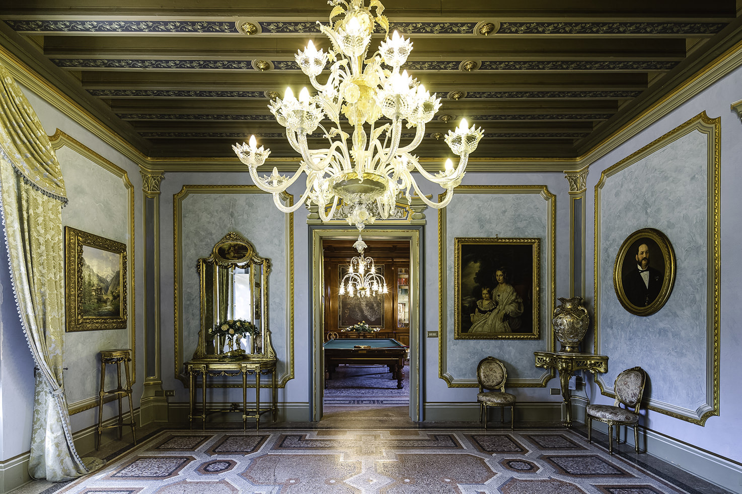 Interior of Castello di Spessa