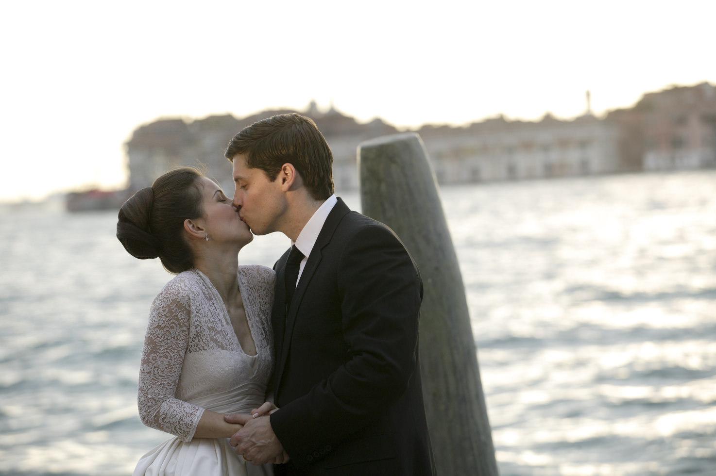 Destination wedding in Venice with jewish ceremony