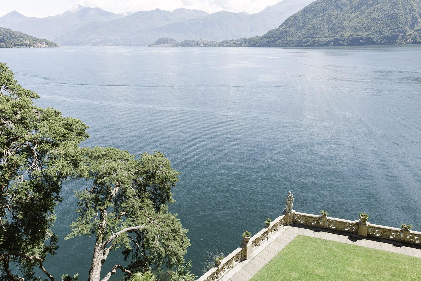 Lake view from Villa del Balbianello