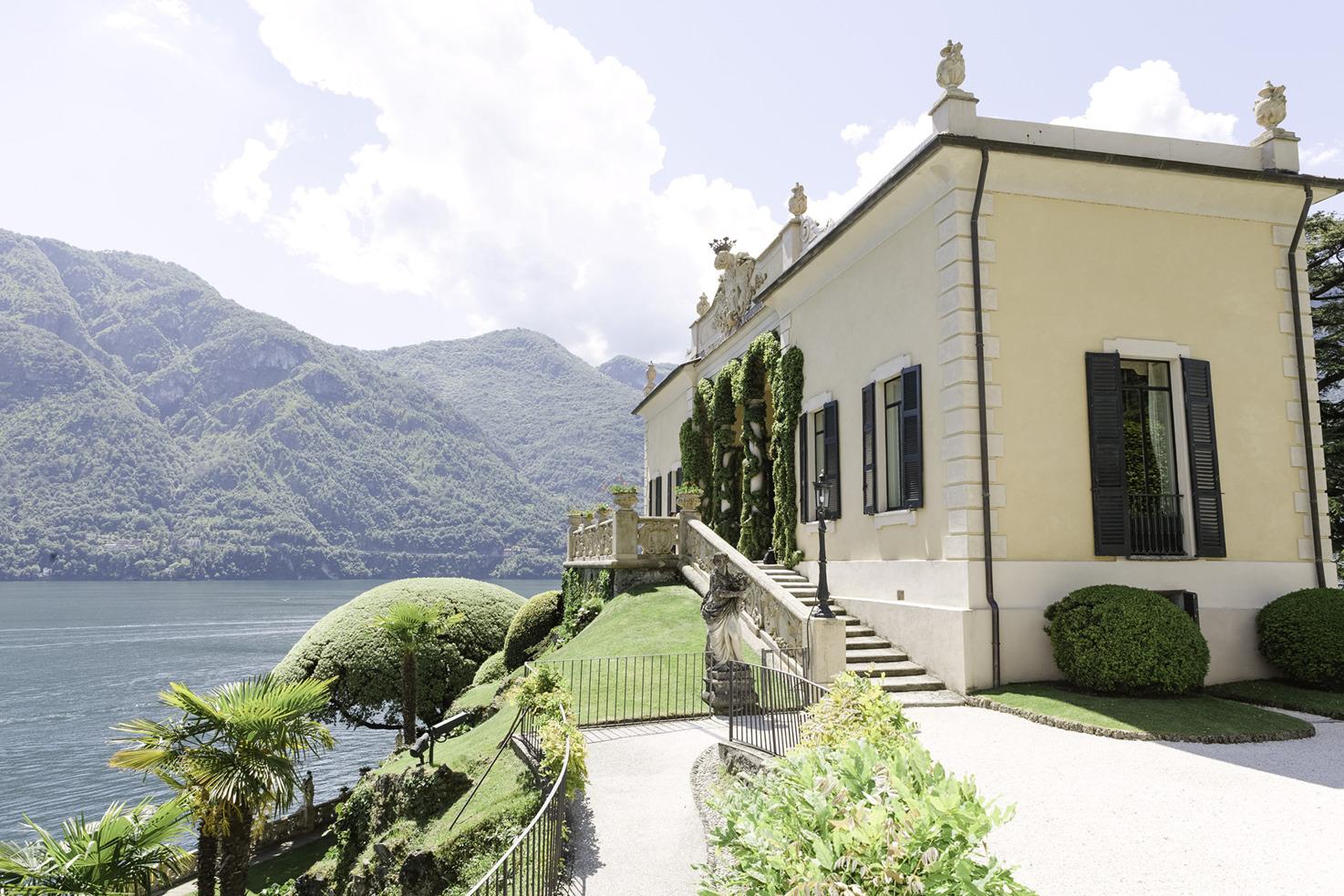Loggia of Villa del Balbianello