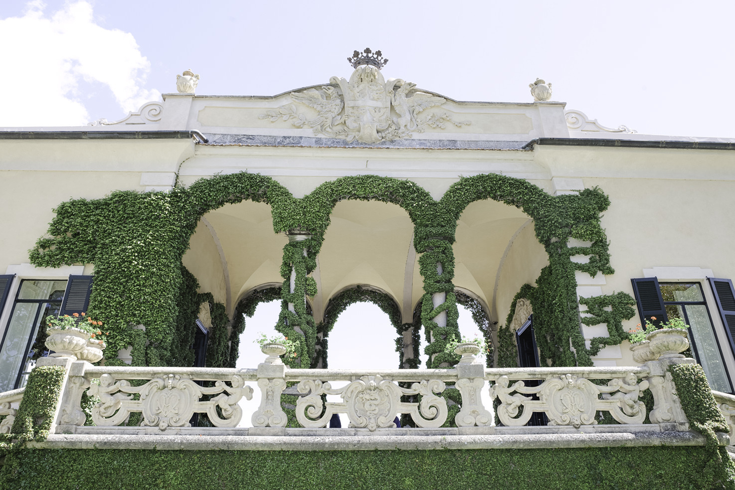 Detail of the Loggia