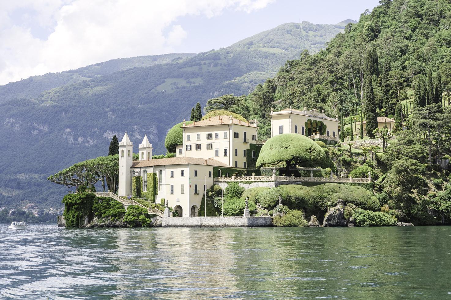 Villa del Balbianello for destination weddings on Lake Como