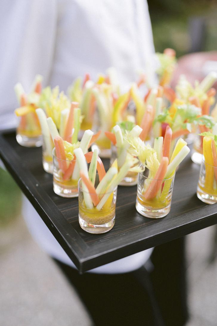 Appetizers for wedding aperitif