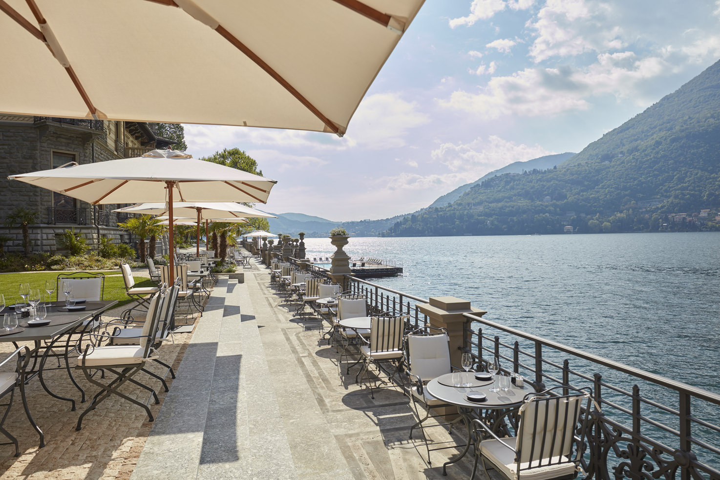 Mandarin Oriental terrace bar