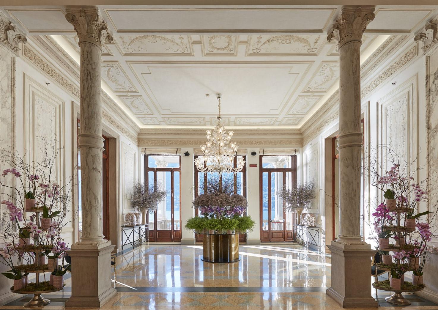 Lobby of Mandarin Oriental