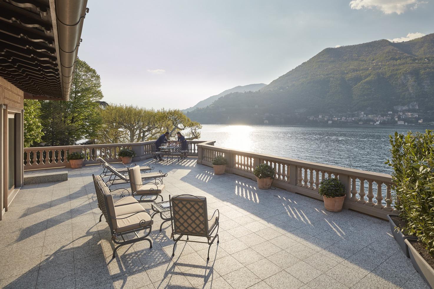 Mandarin Oriental panoramic terrace suite