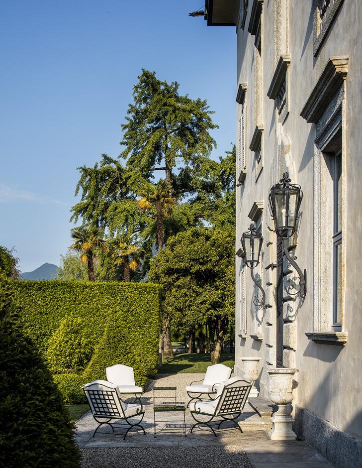 Exterior of Villa Il Balbiano