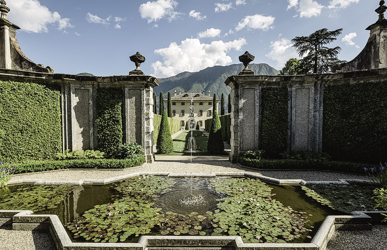 Façade of Villa Il Balbiano