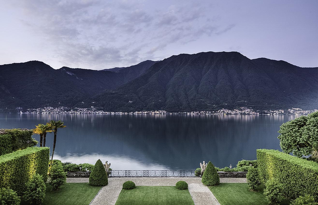 View over Lake Como