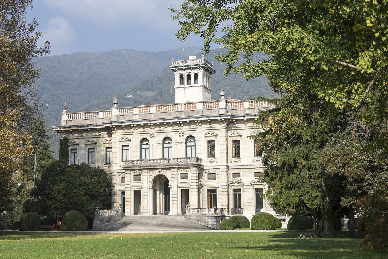 Villa Erba façade