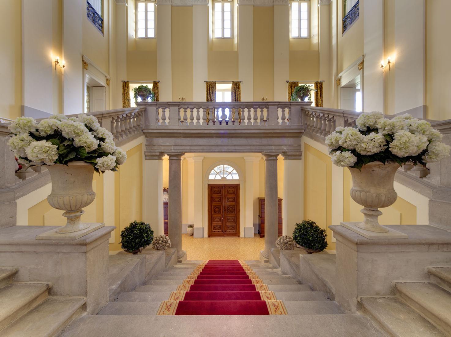 Entrance of Villa Passalacqua