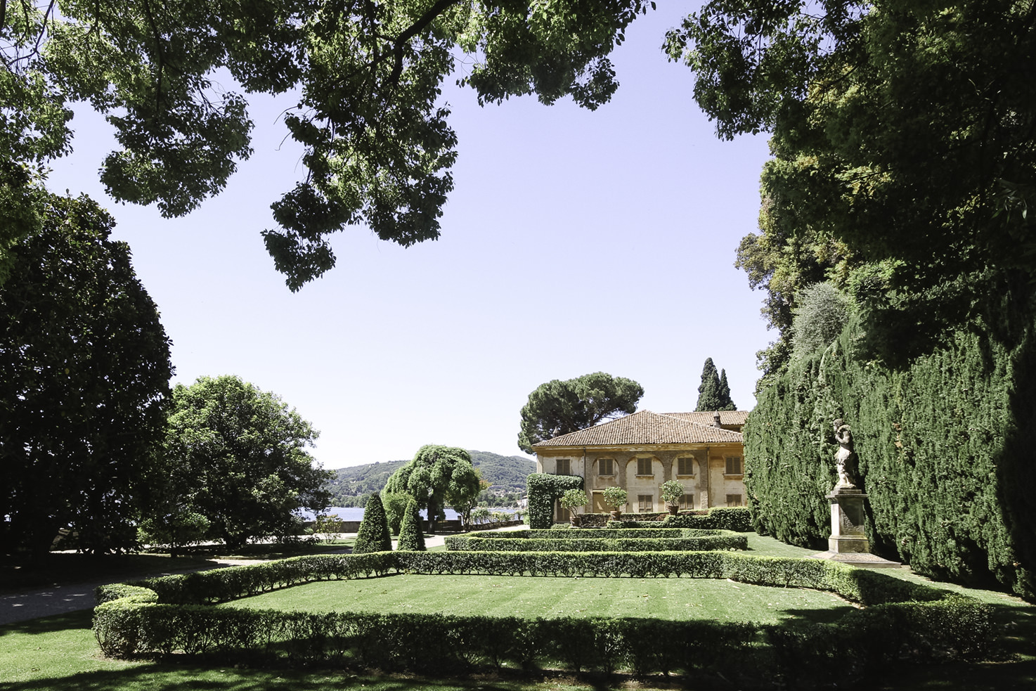 Gardens of Villa Pizzo, Lake Como
