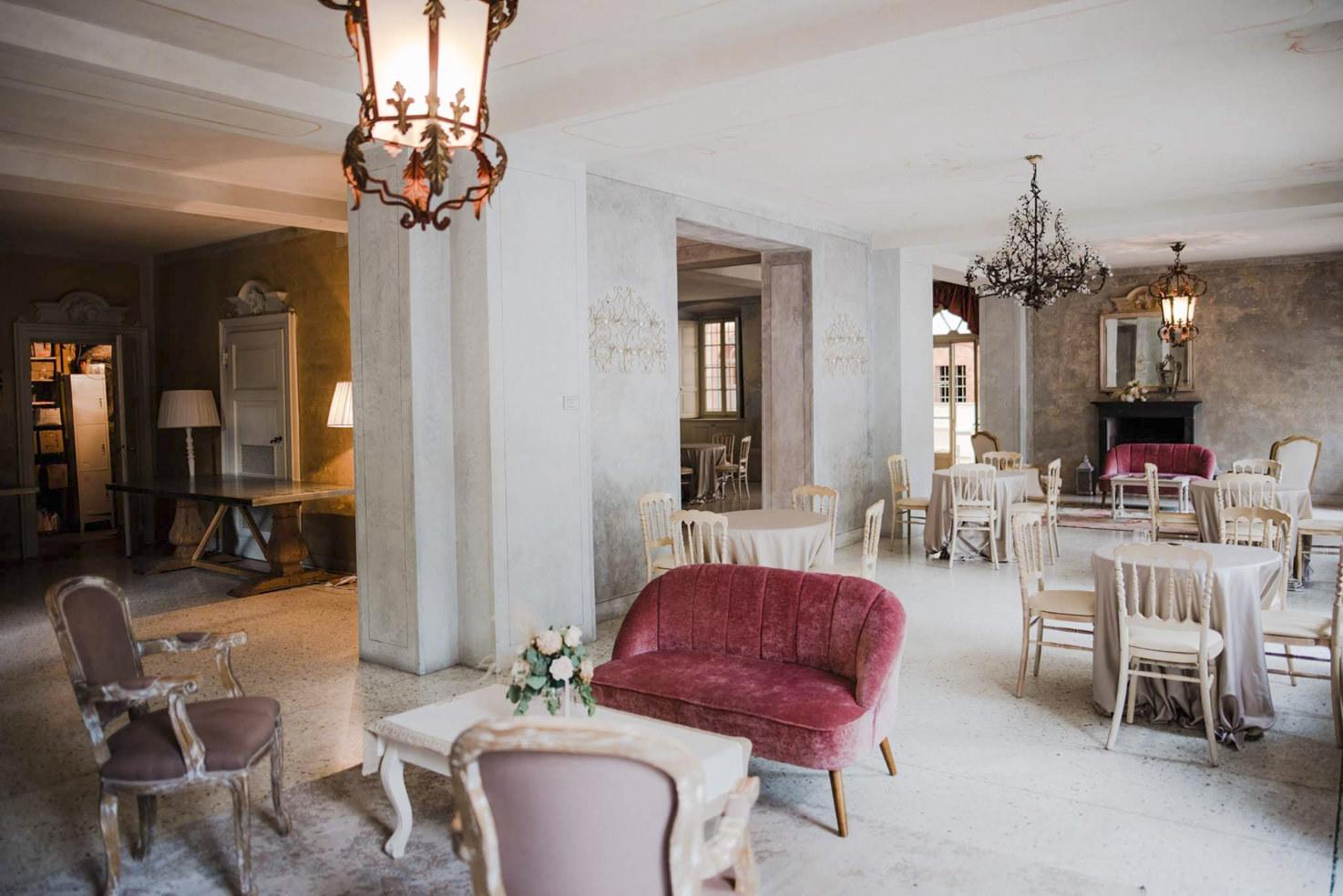 Interior of Villa Regina Teodolinda