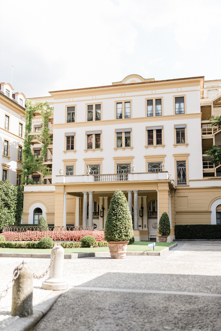 Rear façade of Villa D'Este