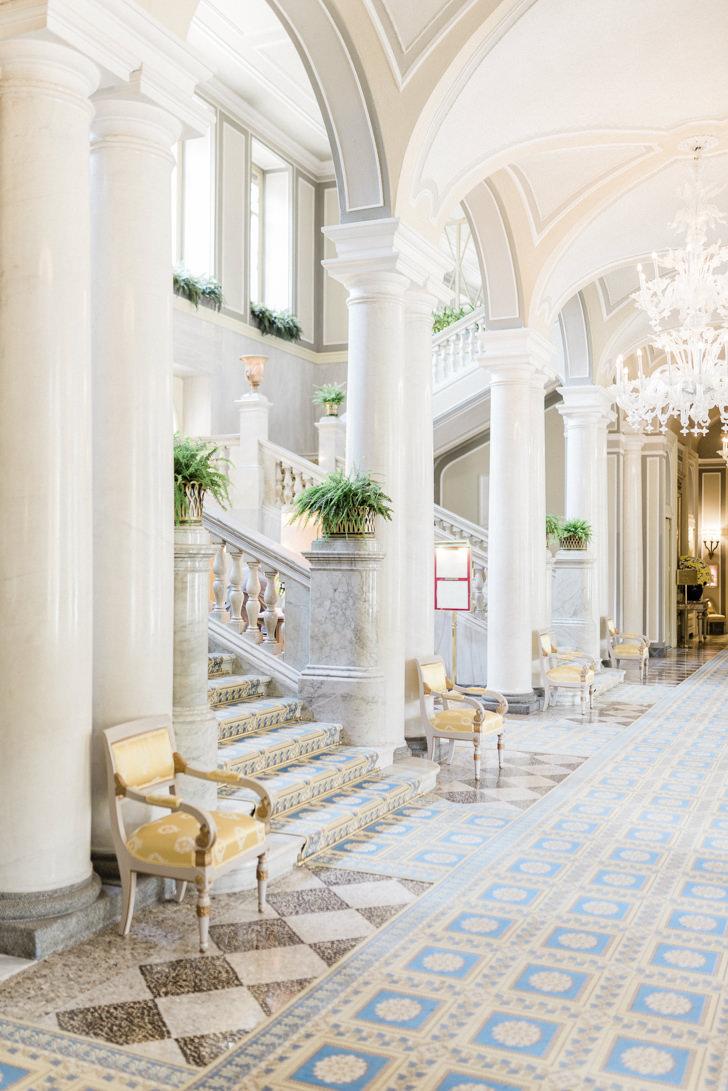 Interiors of Villa D'Este