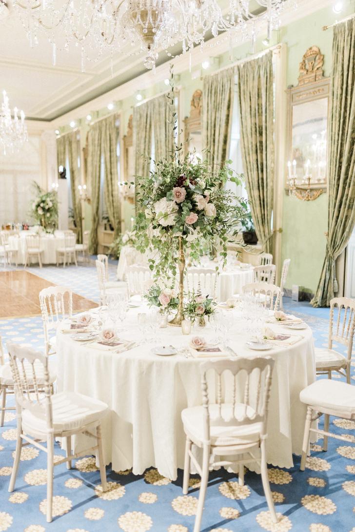 Decoration for wedding reception