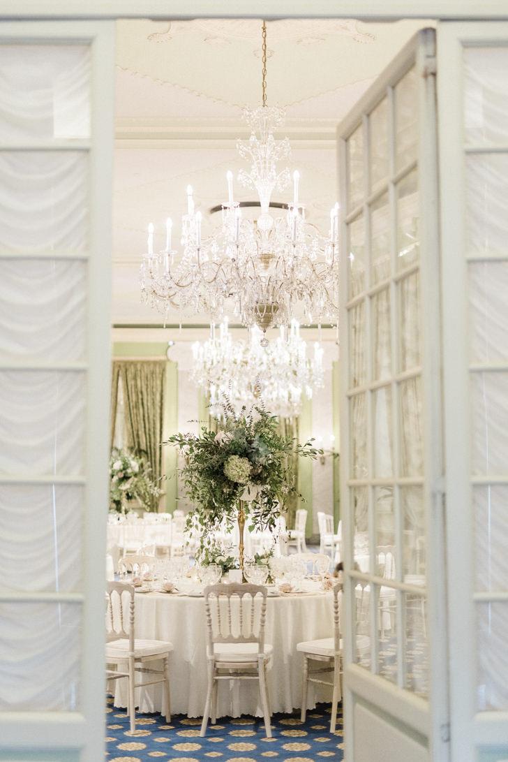 Wedding banquet at Villa D'Este