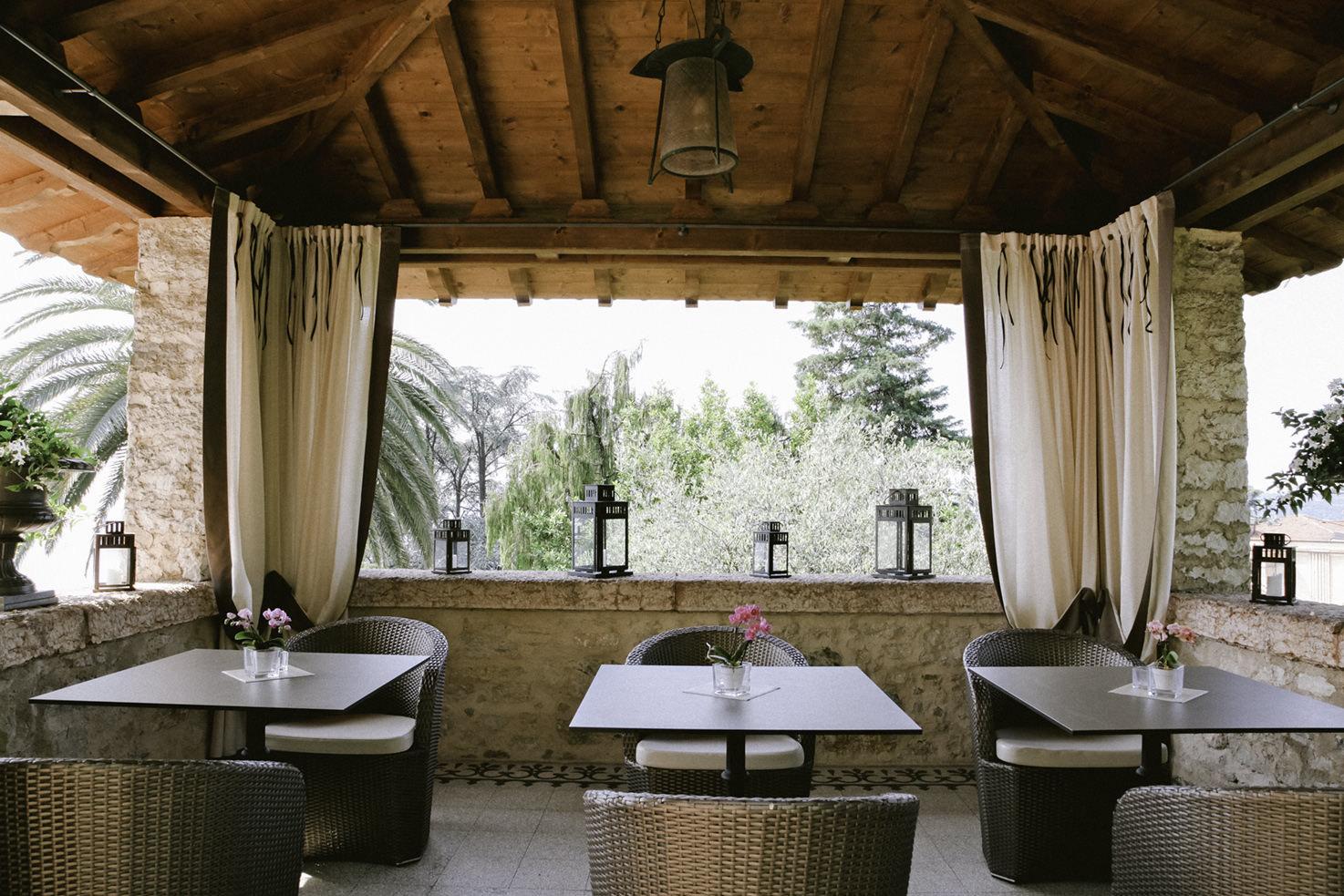 Loggia of Villa del Sogno