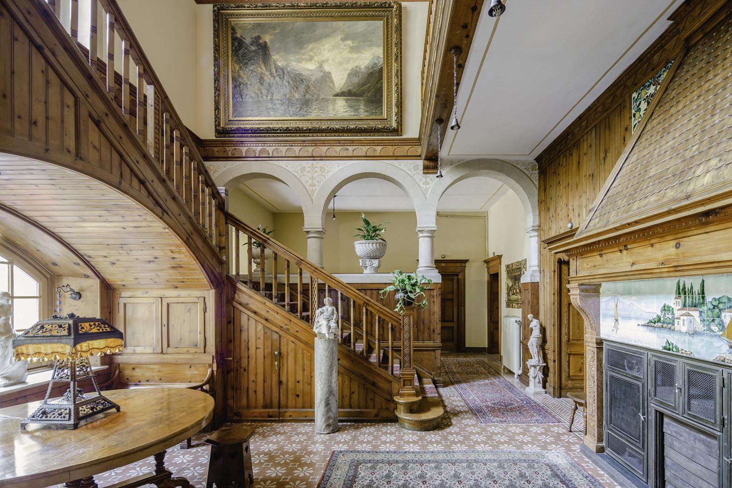 Interior of Villa del Sogno
