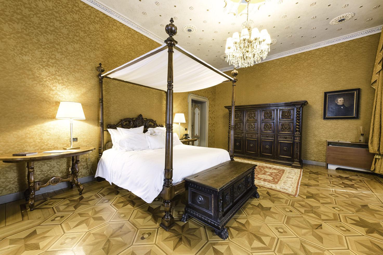 Accommodation at Villa Crespi