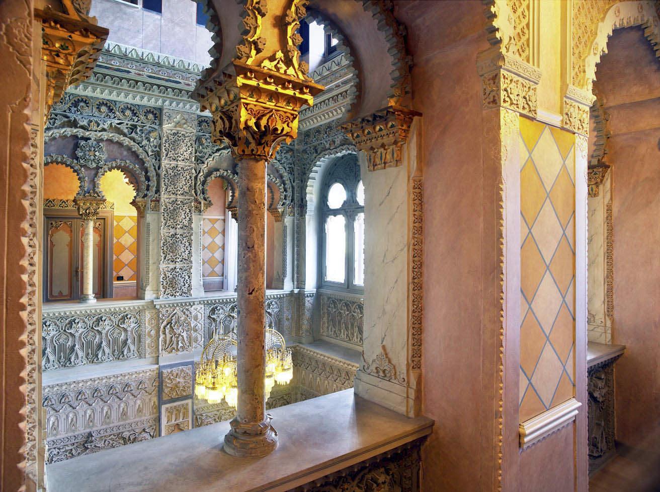 Interior of Villa Crespi