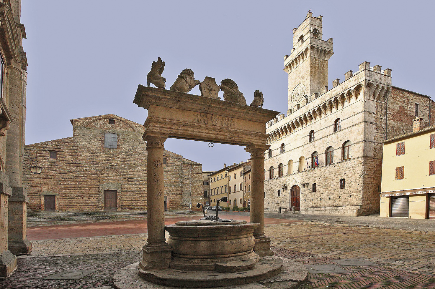Medieval town of Montepulciano