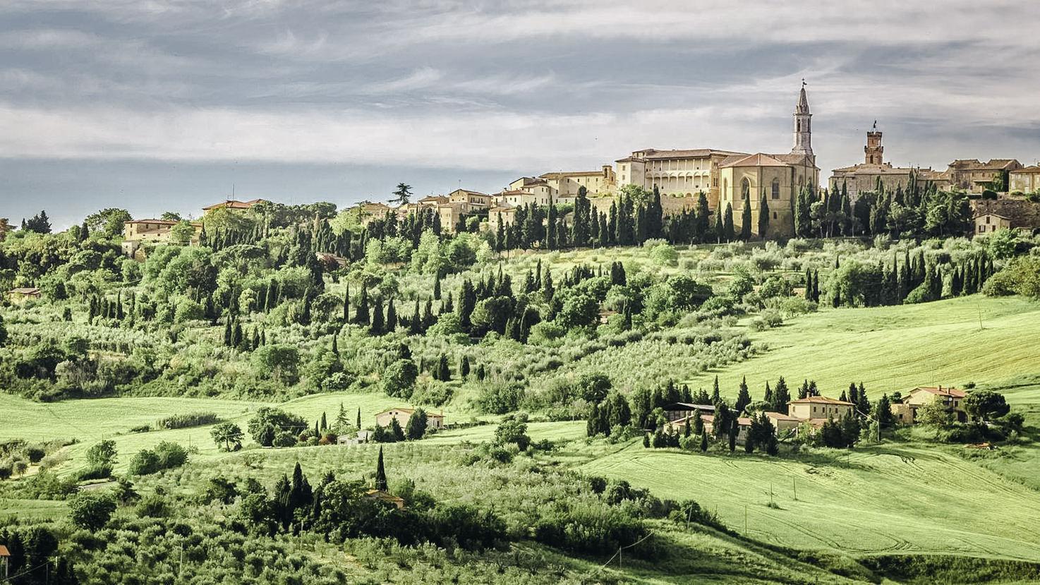Panorama of Pienza