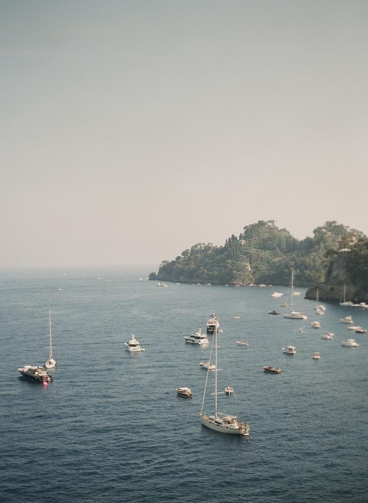 Sea view from La Cervara