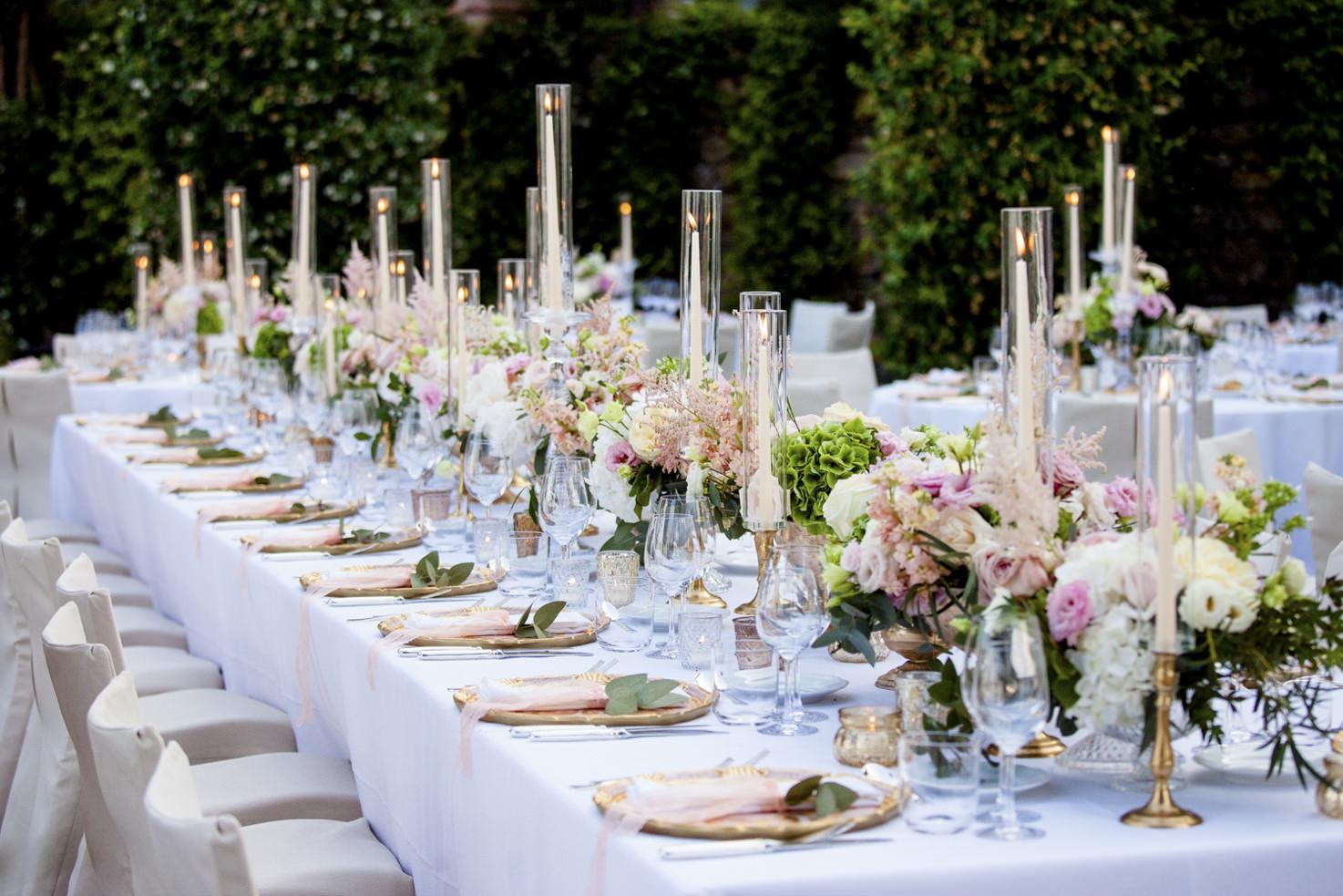 Wedding reception at La Cervara