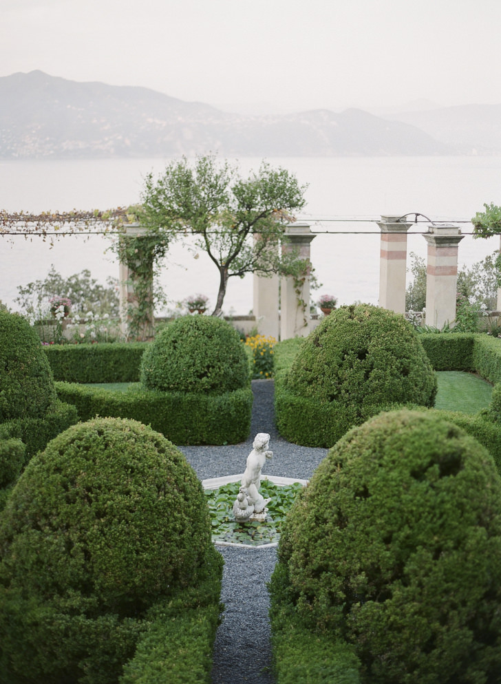 Gardens with sea view