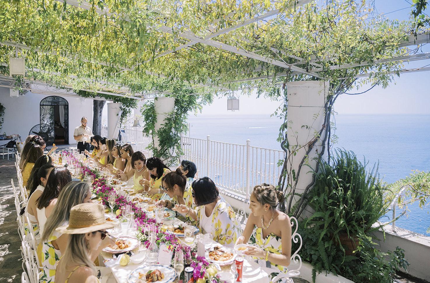 Private Dinner in Positano
