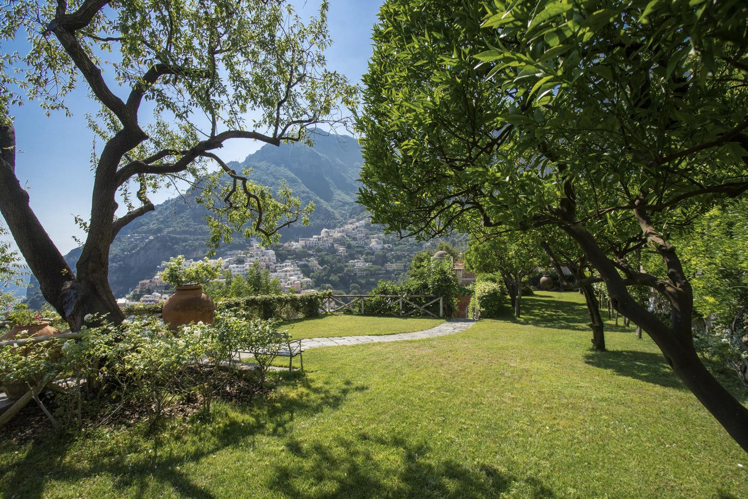 Gardens of Positano private villa