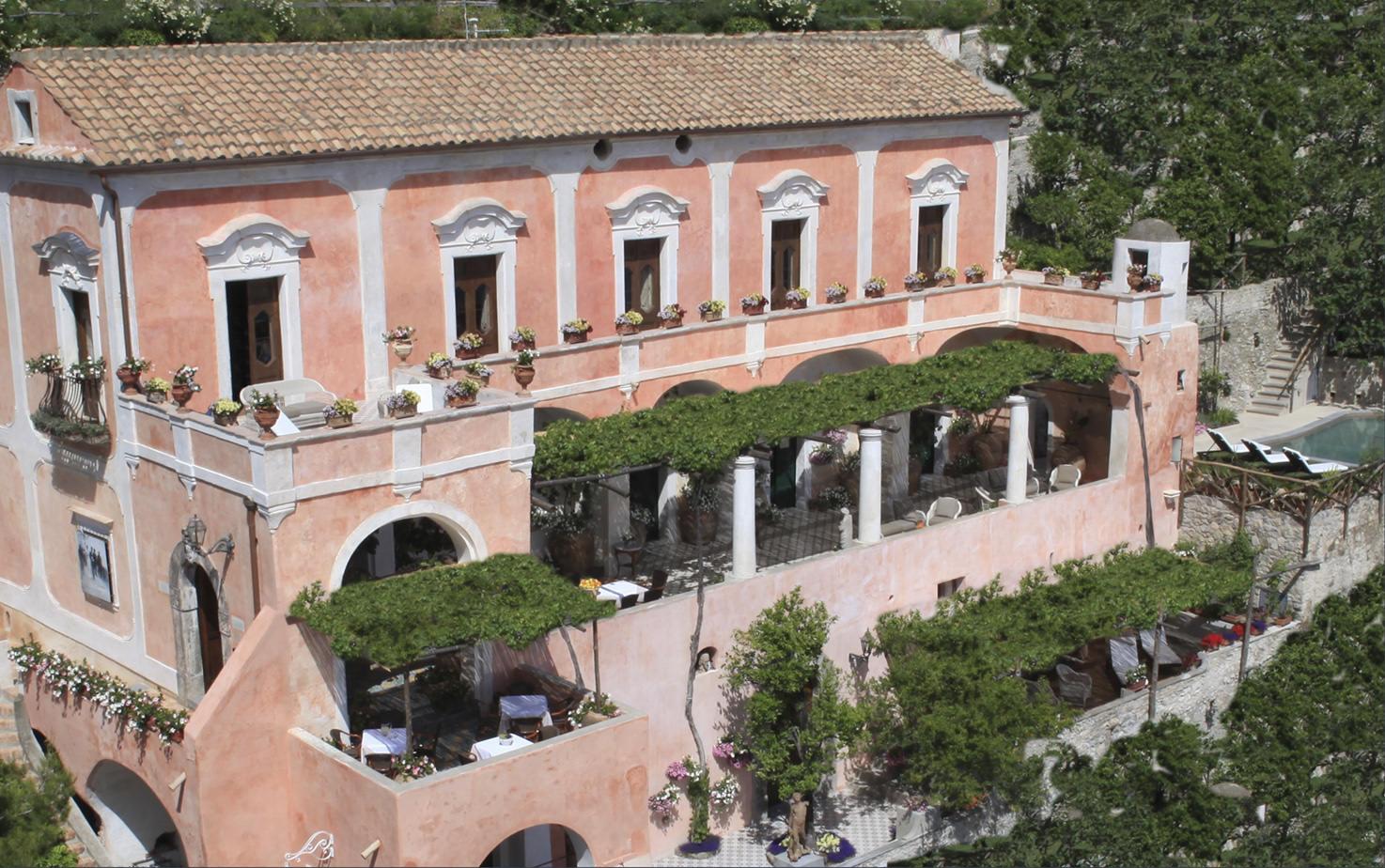 Façade of Positano Private Villa