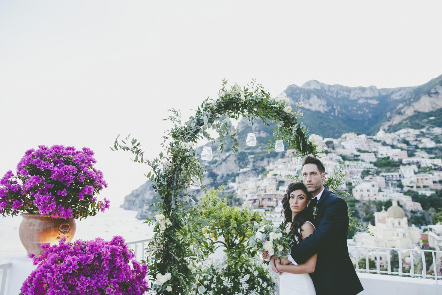 Positano symbolic wedding