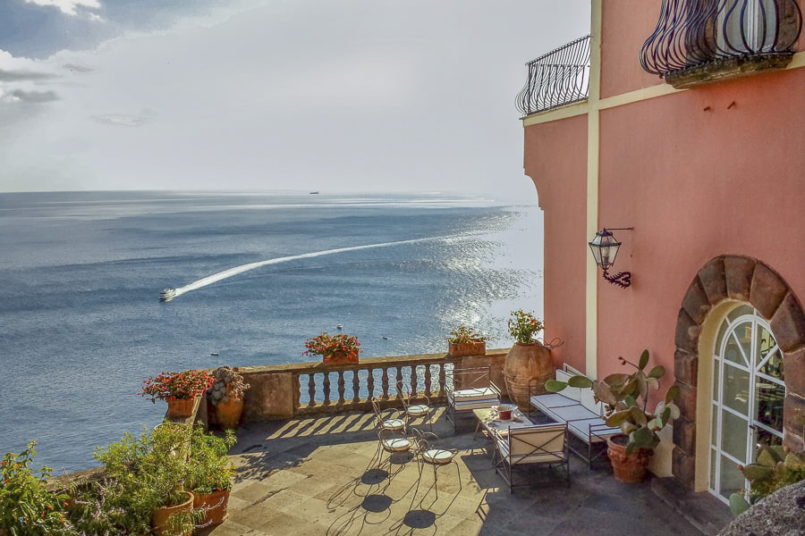 Villa Magia for weddings in Positano
